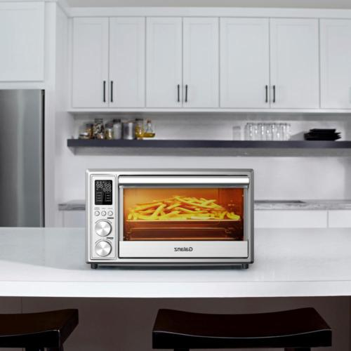 Toaster Oven Digital 6-Slice with Fry Stainless