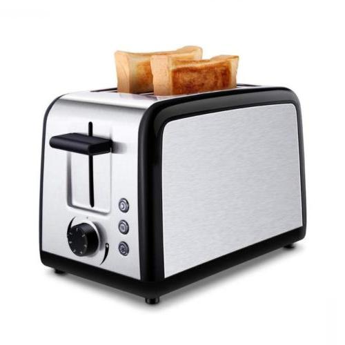 Toasters 2 Slice, Best Rated Prime Brushed Stainless Steel B