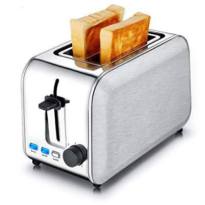 Toasters 2 Slice Best Rated Wide Slots Bread Toaster Stainle