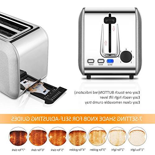 Toasters 2 Slice Best Rated Slots Toaster Stainless Toaster With Cancel Silver