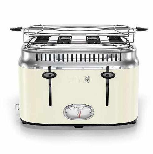 tr9250crr retro style toaster 4 slice new