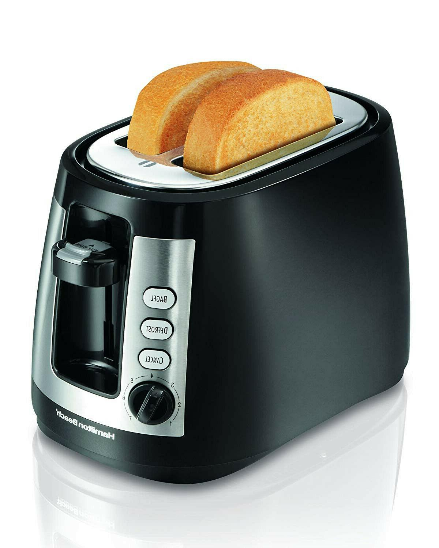 Hamilton Beach Warm Mode 2Slice Toaster  - Black - New - Fre