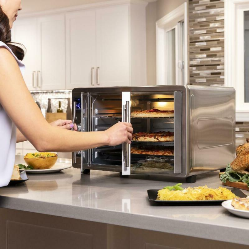 XL Countertop Convection Toaster Oven w/ Doors and Digital