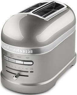 KitchenAid Pro Line Series Sugar Pearl Silver 2-Slice Automa