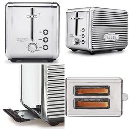 BELLA LINEA 2 Slice Toaster with Extra Wide Slot Color Polis