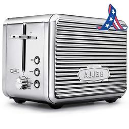 Bella Linea Collection 2 Slice Toaster With Extra Wide Slot,