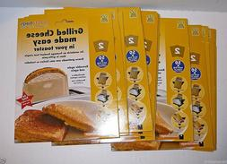Lot ToastaBags Toasta Reusable Toaster Snack Grilled Cheese