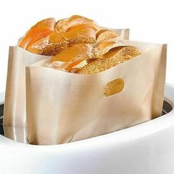 Lots Reusable Toaster Toast Bag for Grilled Cheese Sandwiche