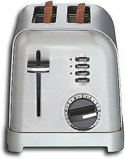 Cuisinart - Metal Classic 2-Slice Toaster - Stainless-Steel.