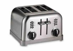 Cuisinart Metal Classic 4-Slice Toaster - Black / Umber - Fr