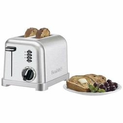Cuisinart Metal Classic CPT-160 Two Slice Toaster