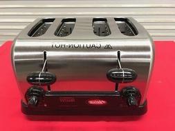 NEW 4 Slice Slot Pop Up Toaster Hatco TPT-120 #9391 Commerci