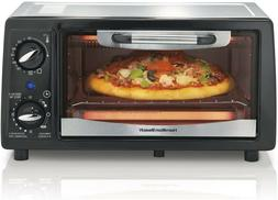 NEW Hamilton Beach 4-Slice Toaster Oven 1050W Built-in Timer