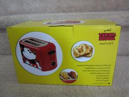 New In Box Disney Mickey Mouse Model DCM-21 2 Slice Toaster,