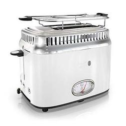 NEW Russell Hobbs TR9150WTR Retro Style Toaster, 2-Slice, Wh