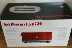 NIB KitchenAid 4-Slice Long Slot Toaster KMT4116ER High Lift