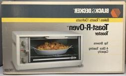 NIB Black & Decker Toast-R-Oven Under Cabinet Toaster Oven S