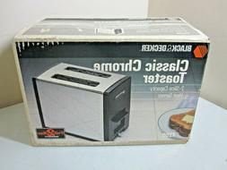 NOS Black & Decker T200 Chrome Toaster Brand New