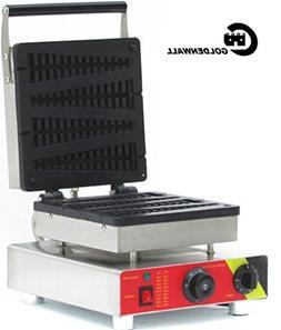 CGOLDENWALL 4pcs Commercial Waffle Toaster waffle maker No-s