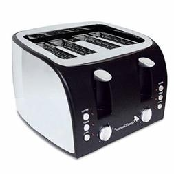 Coffee Pro OG8166 4-Slice Multi-Function Toaster with Adjust