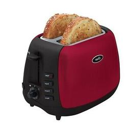 Oster 6595 Two Slice Toaster - Bagel, Toast - Red