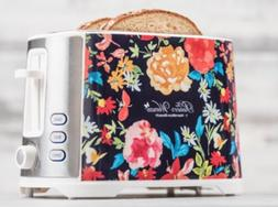 Pioneer Woman Extra-Wide Slot 2 Slice Toaster Fiona Floral b