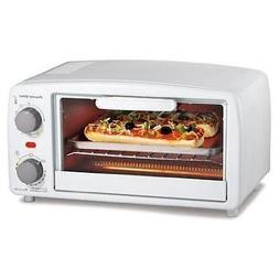 Proctor Silex 4 slice Toaster Oven, White New