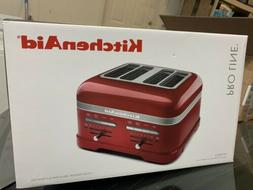 KitchenAid Proline 4 Slice Toaster - Candy Apple Red
