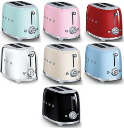 SMEG Retro Style 2 Slice Toaster 950W Electric CHOOSE FROM 7