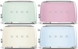 SMEG Retro Style 4 Slice Toaster 1400W Electric CHOOSE FROM