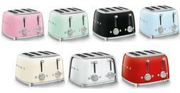 SMEG Retro Style Aesthetic 4 Slot Toaster 1800 W Electric CH