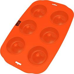 Silicone Donut Maker Baking Pan Tray - 6 Holes - Pure Food G