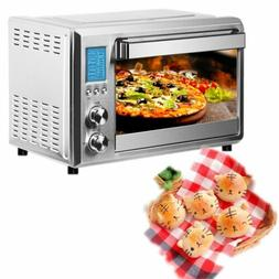Silver Toaster Ovens with 4-storey Grill  Big Intelligent LC