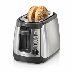Hamilton Beach Slice Toaster w/ Keep Warm, Bagel, Defrost Se