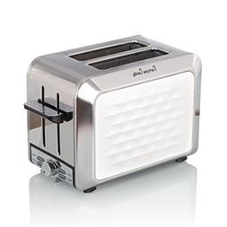 Slice Toaster, 2-Slice Extra-Wide Slot Toaster for Bafel Bre