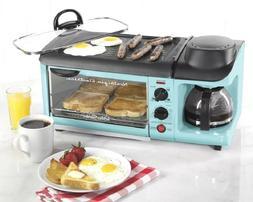 Small Kitchen Appliance Breakfast Station Blue Coffee Maker