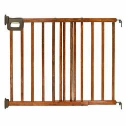 Summer Infant Deluxe Stairway Simple to Secure Wood Gate Bab