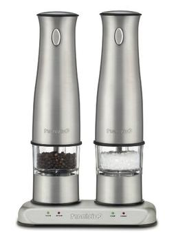 Cuisinart SP-2 Stainless Steel Rechargeable Salt and Pepper