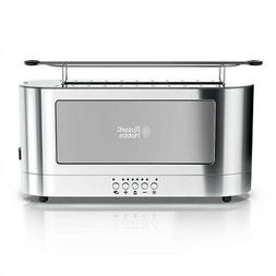 Russell Hobbs Stainless Steel 2 Slice Long Toaster with Glas