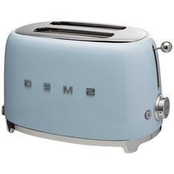 Stainless Steel 2 Slice Pastel Blue Toaster kitchen Applianc