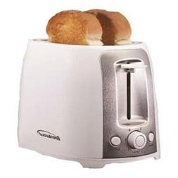 - Brentwood 2 Slice Cool Touch Toaster ; White and Stainless