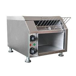 Adcraft Stainless Steel Conveyor Toaster, 13.5 x 14.5 x 19.5
