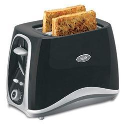 Oster Stainless Steel Inspire 2-Slice Toaster, Black