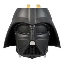 Star Wars Darth Vader Black Helmet 2-Slice Toaster Force Awa
