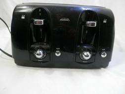 Sunbeam 4 Slice Extra-Wide Slot Bagel Toaster - Black Model