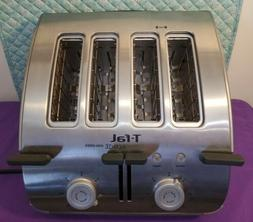 T-Fal Avante High Speed 4 Slice Bagel Toaster Stainless Stee