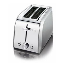 T-Fal Stainless Steel 2 Slice Toaster KH250D51