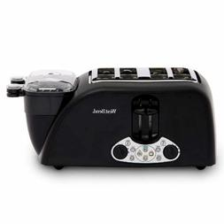 West Bend TEM4500W Quick Egg Bagel and Muffin Wide Slot Toas