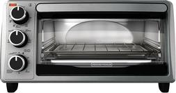 BLACK+DECKER TO1303SB 4-Slice Toaster Oven Stainless Steel/B