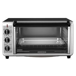 BLACKDECKER TO3260XSBD 8-Slice Extra-Wide Toaster Oven, 13x9